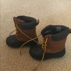 "GAP Shoes - Toddler Boys Gap ""Duck"" Boots - Size 5/6"